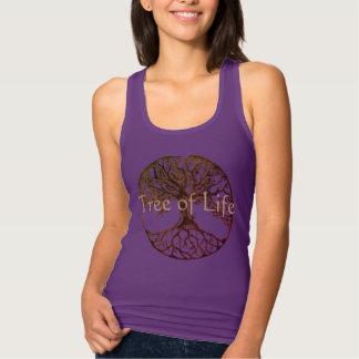 Tree of Life in Purple Tank Top