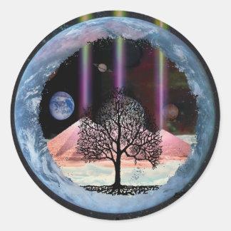 Tree of Life Inner Truth Classic Round Sticker