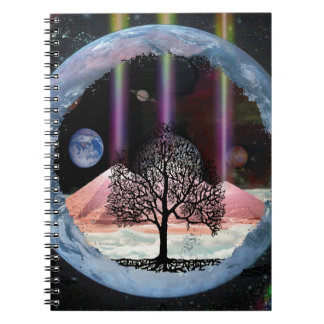 Tree of Life Inner Truth Spiral Notebooks