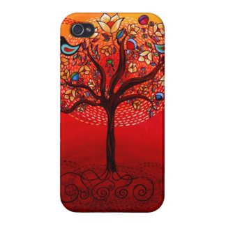 """""""Tree Of Life"""" iphone4 case Covers For iPhone 4"""