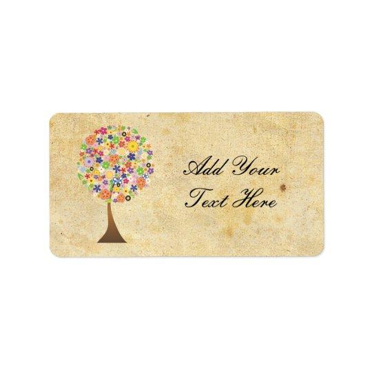 Tree of Life Label