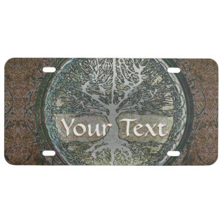 Tree of Life License Plate