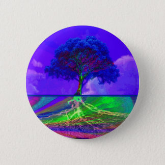 Tree of Life Live Your Dream 2 Inch Round Button