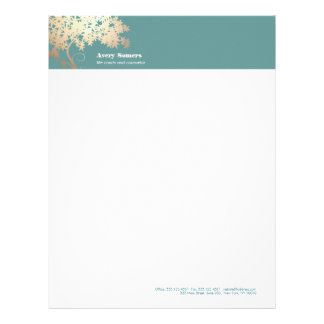 Tree of Life Logo  Health and Wellness Letterhead