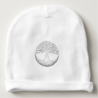 Tree of Life Mandala Baby Beanie