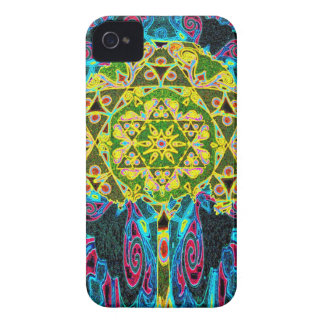 Tree of Life Mandala by Amelia Carrie iPhone 4 Covers