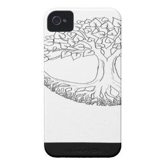 Tree of Life Mandala iPhone 4 Case-Mate Case