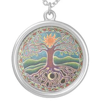 Tree of Life Mandala  Necklace