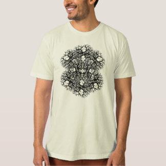 Tree of Life Mandala T-Shirt Monochrome