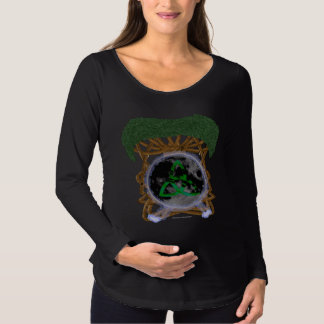 Tree of Life Maternity Long Sleeve Shirt