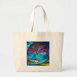 Tree of Life Meditation Jumbo Tote Bag