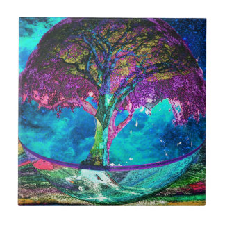Tree of Life Meditation Tile