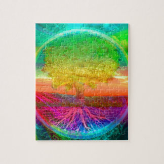 Tree of Life Miracles Jigsaw Puzzle