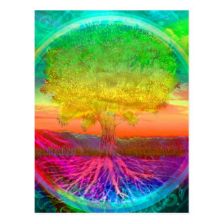 Tree of Life Miracles Postcard