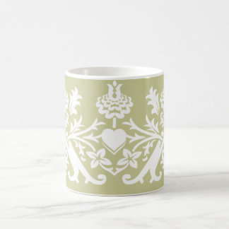 Tree of Life Motif Mug - Beige Sand