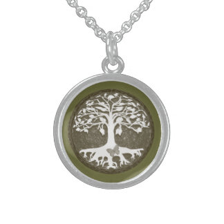 Tree of Life New Beginnings by Amelia Carrie Sterling Silver Necklace