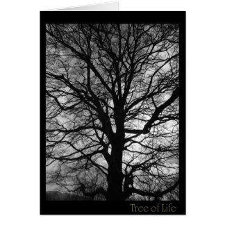Tree of Life - not only for tree huggers Card
