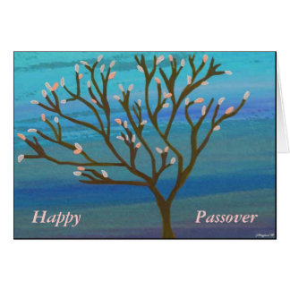 Tree of Life Passover Card