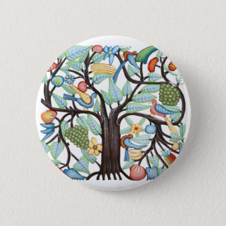 TREE of LIFE pastel 2 Inch Round Button