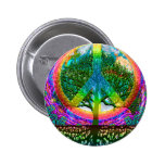 Tree of Life Peace Pinback Button