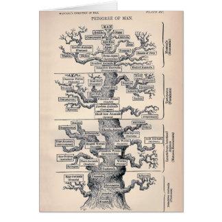 Tree Of Life / Pedigree Of Man Card