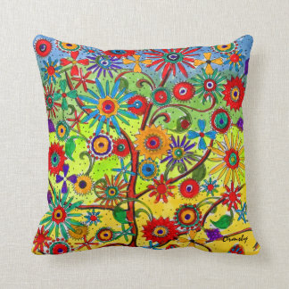 Tree of Life-pillow Throw Pillow