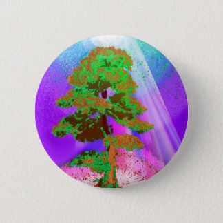 Tree of Life Radiance 2 Inch Round Button