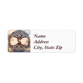 Tree  of Life Return Address Label