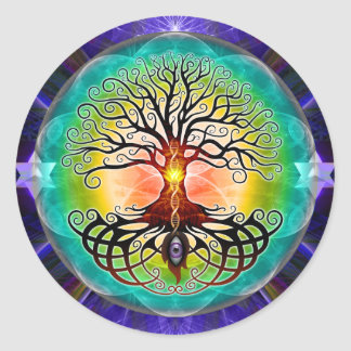Tree Of Life Round Sticker