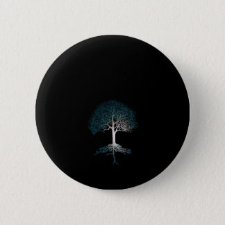 Tree of Life Silent Night 2 Inch Round Button