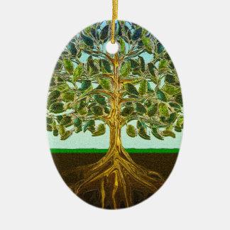 Tree of Life Simple Pleasures of Life Ceramic Ornament
