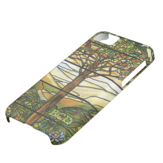Tree of Life Stained Glass with Initials iPhone 5C Cover