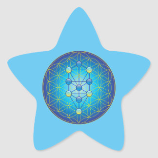 Tree Of Life Star Sticker