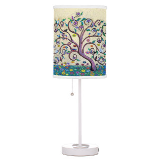 Tree of life table lamp