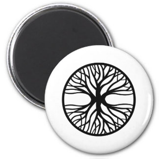 Tree Of Life Tattoo 2 Inch Round Magnet