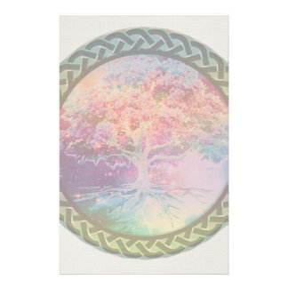 Tree of Life Tranquility Stationery