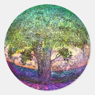 Tree of Life Truth Seeker Classic Round Sticker