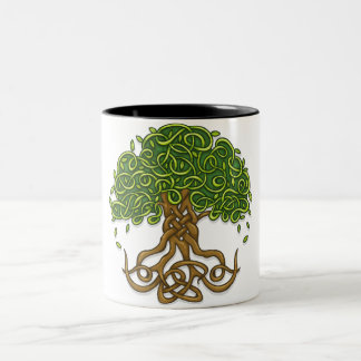 Tree of life Version 3 Two-Tone Coffee Mug