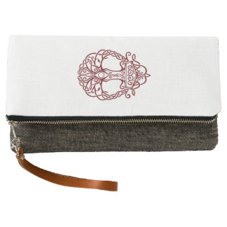 Tree of life - viking norse design clutch