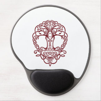 Tree of life - viking norse design gel mouse pad