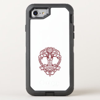 Tree of life - viking norse design OtterBox defender iPhone 8/7 case