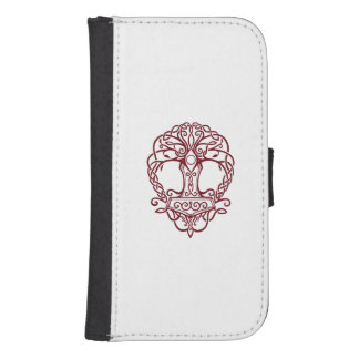 Tree of life - viking norse design samsung s4 wallet case