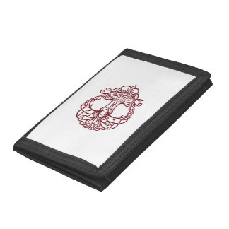 Tree of life - viking norse design tri-fold wallets
