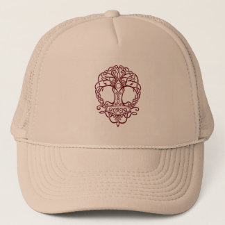 Tree of life - viking norse design trucker hat