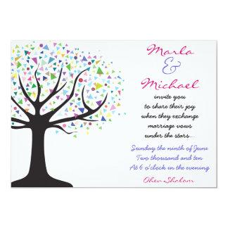 Tree of Life Wedding Invitation Invite Engagement