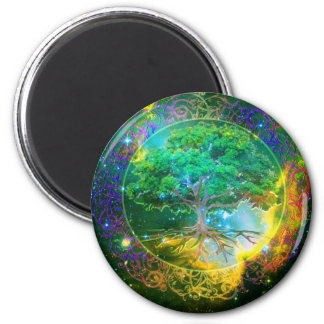 Tree of Life Wellness 2 Inch Round Magnet