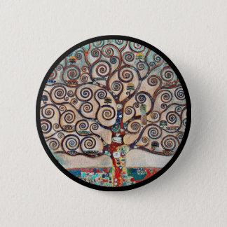 Tree of Life with Birds 2 Inch Round Button