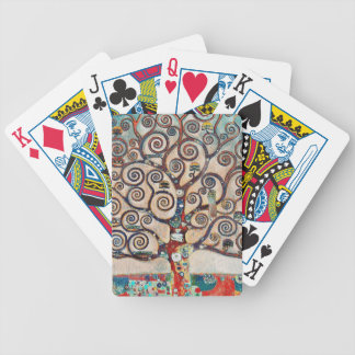 Tree of Life with Birds Bicycle Playing Cards