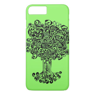 Tree of Life with green background iPhone 8 Plus/7 Plus Case