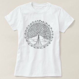 Tree of Life Women's Color Me T-Shirt